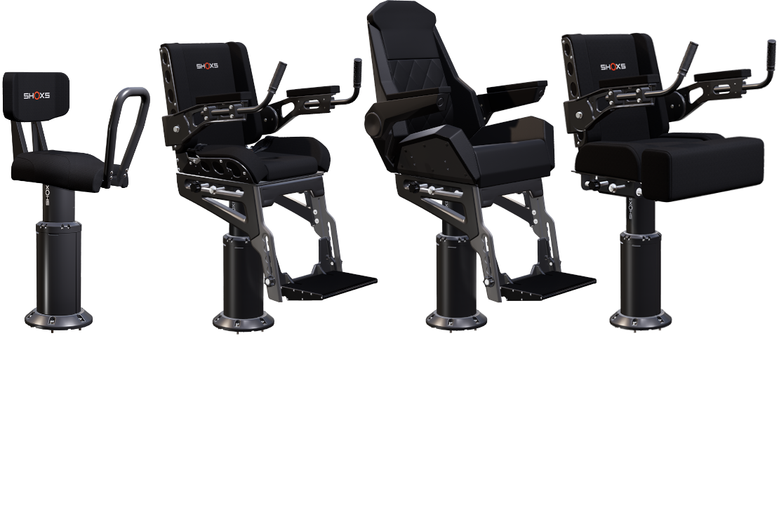 3000 Series | Marine suspension seating for shock mitigation on any boat