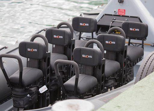BAE PAC 24 crew seating