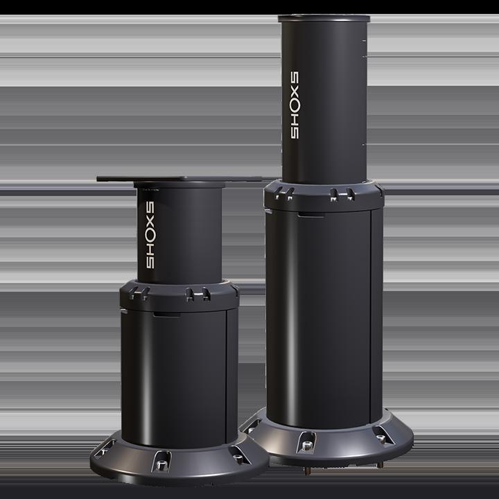 X Series | Marine-Grade Pedestal Suspension Seat Mounts for Boats
