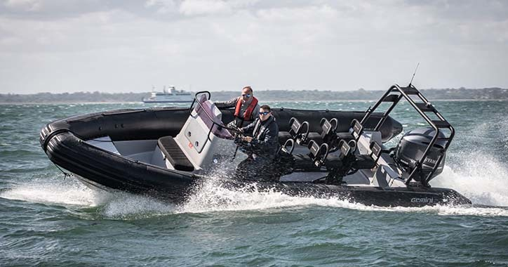 On-water SHOXS demos in London at DSEI 2019