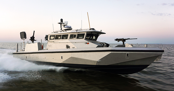 SHOXS 4800 Whole-Body Isolation Suspension Seats Chosen for US Navy Patrol Boat