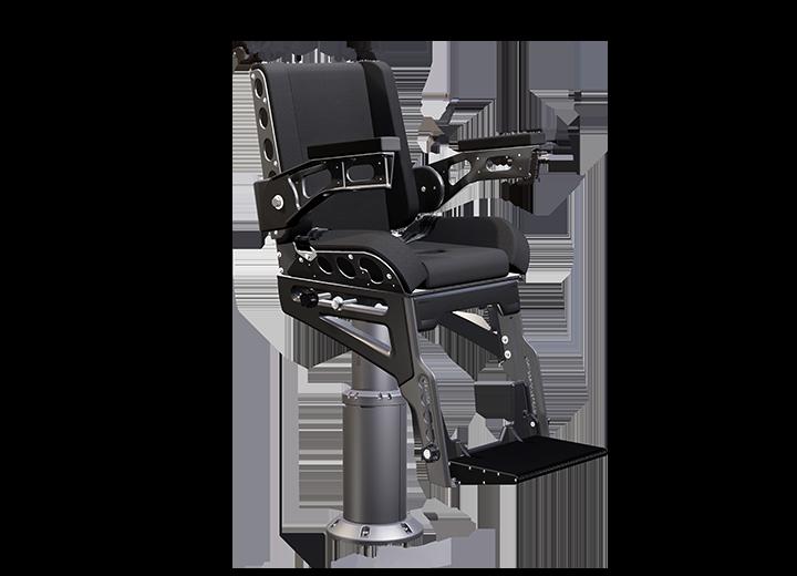 3200x8 shock absorbing helm seat gray