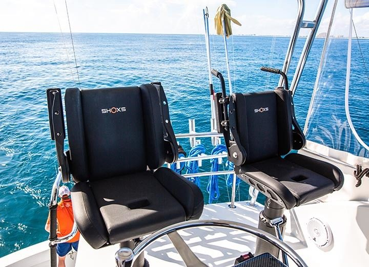 3200 X8 boat suspension seating installation