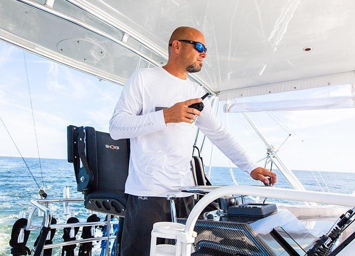 3200 X8 marine suspension seat installation