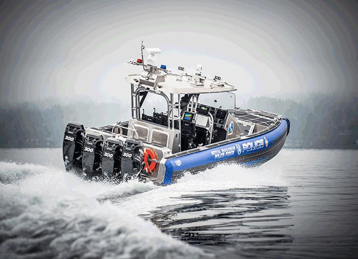 Bahamas 41' SAFE Boat