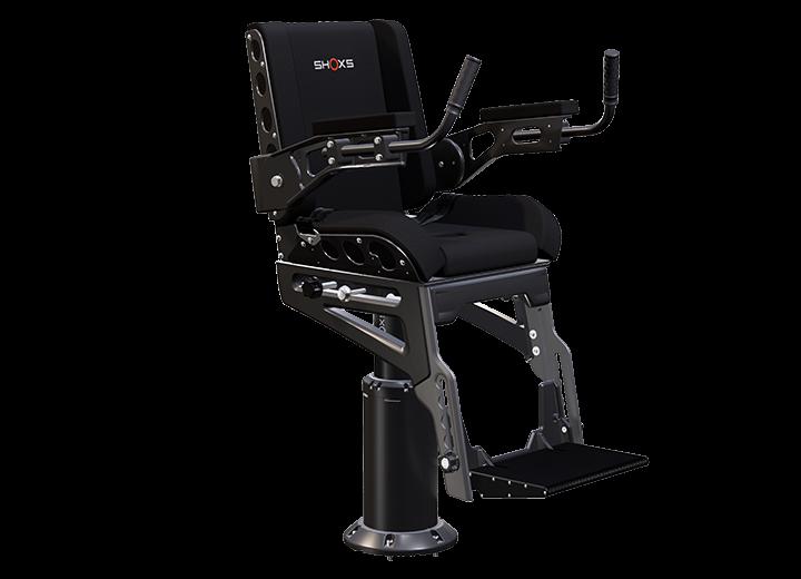 SHOXS 3200-X8 shock mitigating seat with swivel