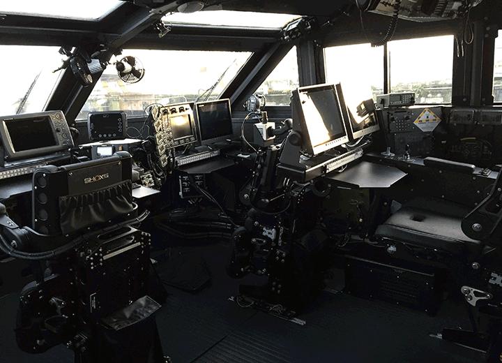 PB MK VI Pilot House - US Navy
