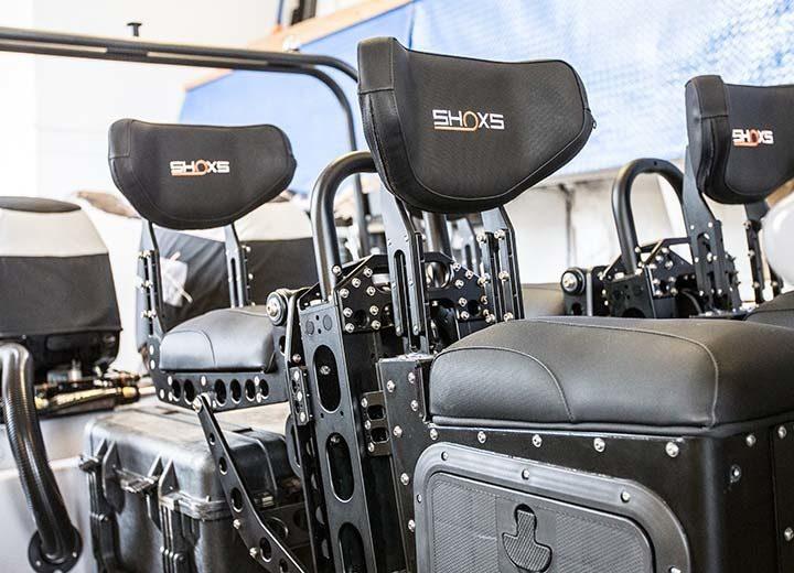 SHOXS 5105 Rear Mounted Jockey Style Cockpit Seating