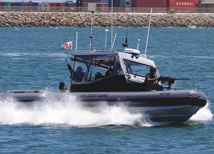 Shoxs 6100 On US Coast Guard TPSB
