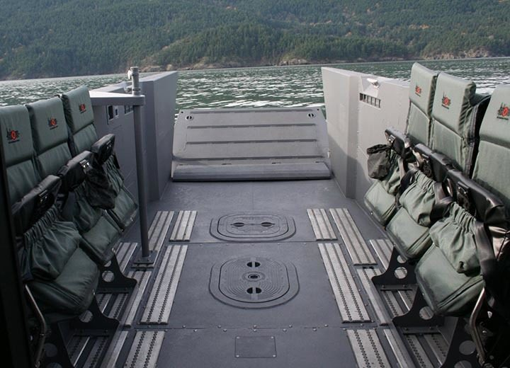 Shoxs 8000 Series Troop Transport Seating