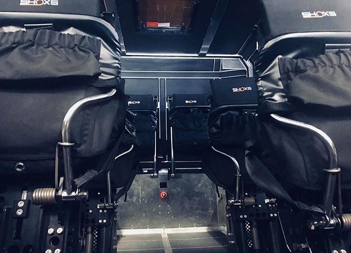 Shoxs 8180 Folding Seat Multi Row