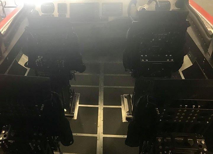 Shoxs 8180 Helm Seating