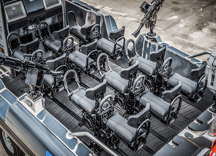 SHOXS TRAXS - Deployed Seats