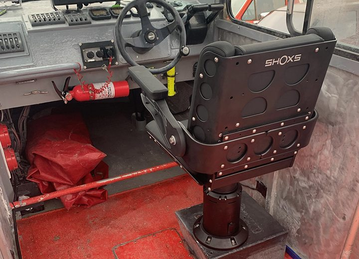 Shoxs 3200 X4 Boat suspension seat