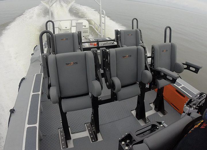 Shoxs 7200 bolster style seat