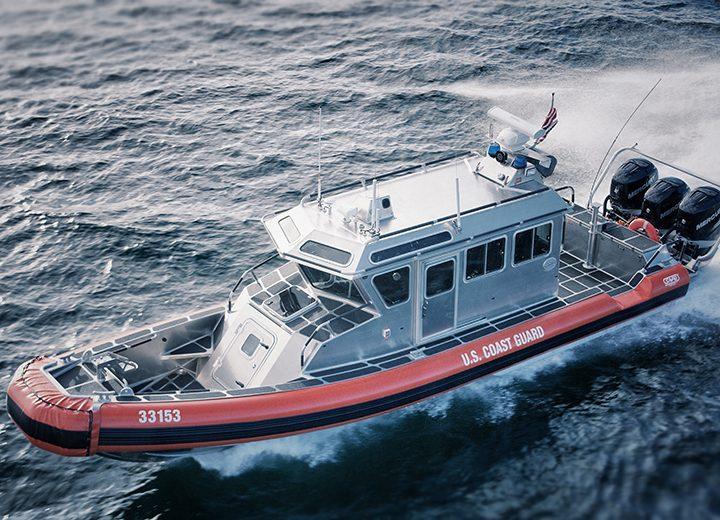 USCG 33 SPC LE SAFE Boats International Shoxs 4800 and 2000