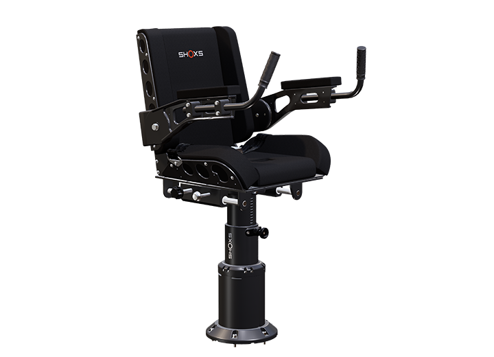 SHOXS 3200 X4 marine suspension seat with swivel