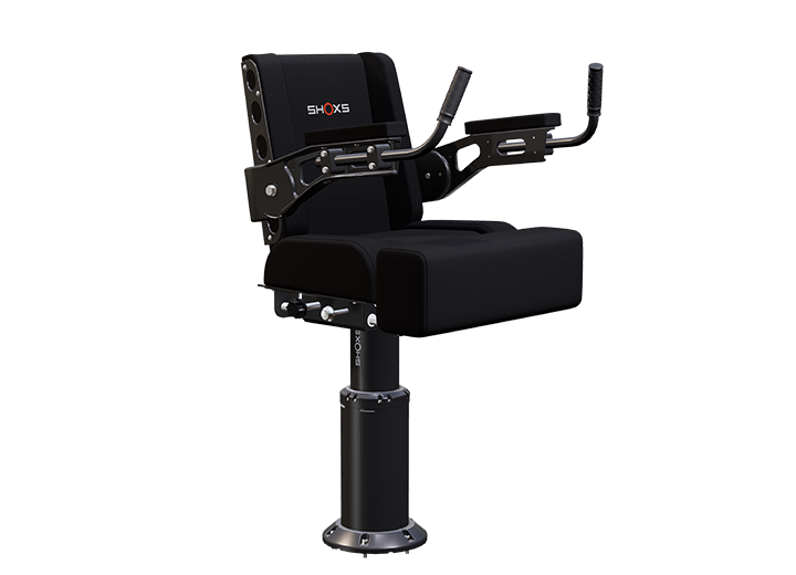 SHOXS 3700-X8 shock mitigating seat with swivel