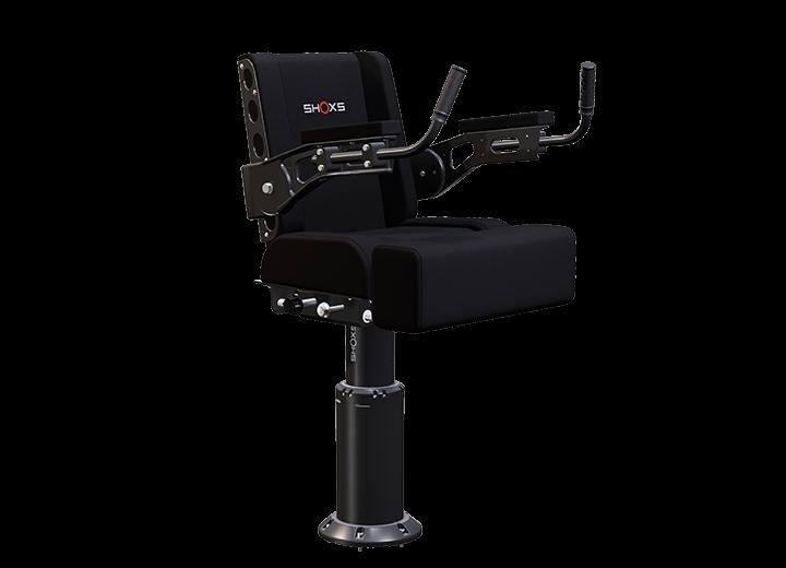 SHOXS 3700-X8 shock mitigating seat with swivel