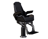 SHOXS 3400 X8 marine suspension seat for boats 2