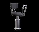 Shoxs 3900 x8 boat jockey suspension seat gray