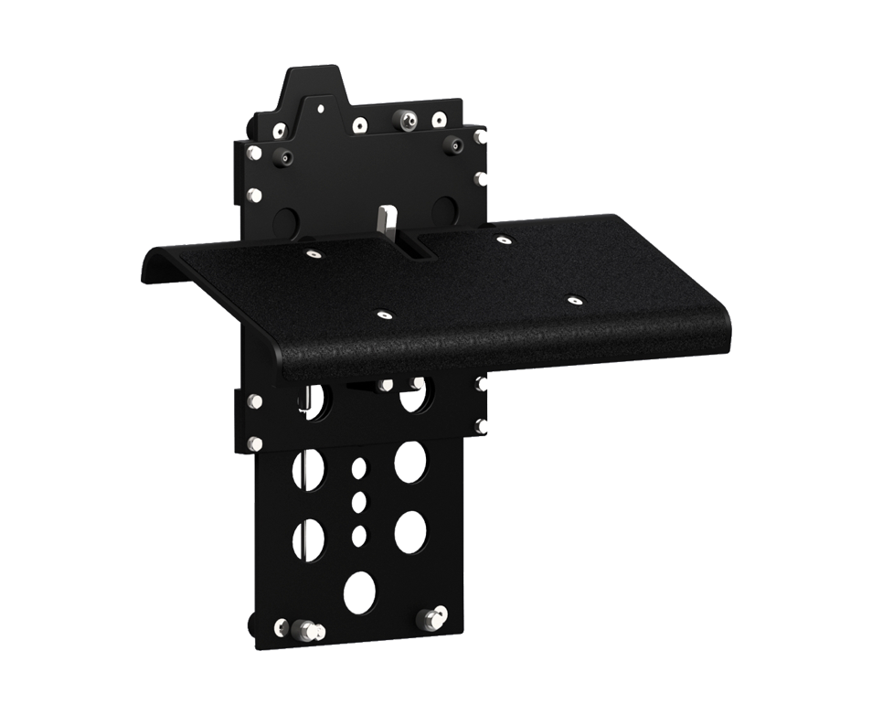 Shoxs Adjustable Footrest Black 954X782