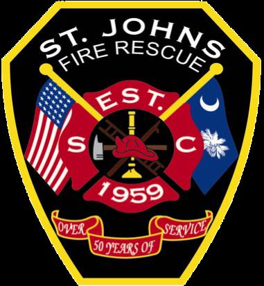St.Johns Fire District Logo