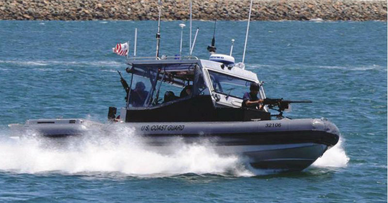 US Coast Guard Transportable Port Security Boat (TPSB)